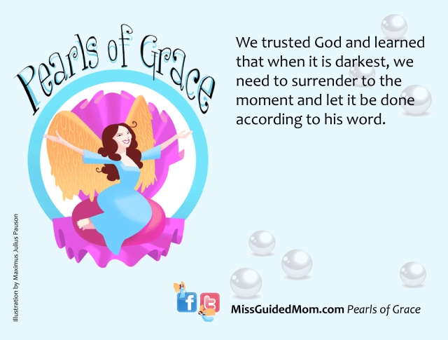 Pearls of Grace Quote on God, Darkness