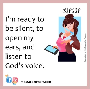 career, silence, retreat, listen, God, spirituality