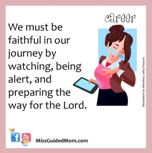 Faithful, journey, God, grace, Lord, working mom