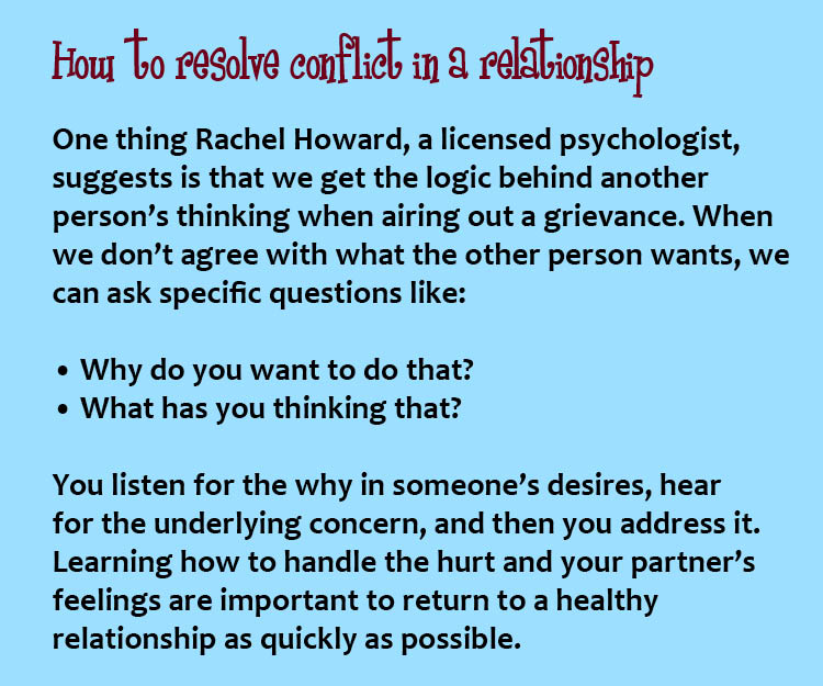 conflict resolution, therapist, grievance, marriage, empathy, healthy relationship