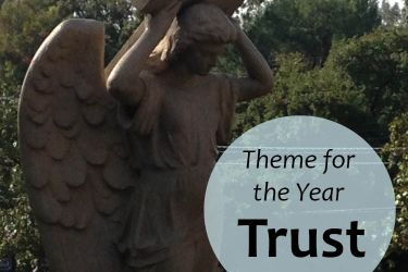 trust, theme for new year, working mom, career, life purpose,