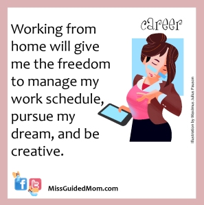 working mom, dream, career